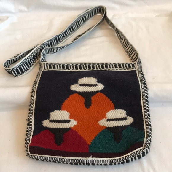unbranded Handbags - Boho southwestern woven/lined crossbody purse